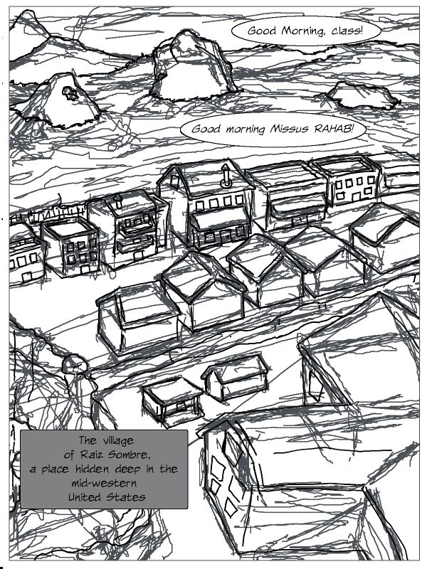 Sketch of page 1