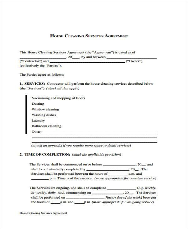 17 Best Ideas About Contract Agreement On Pinterest Cleaning