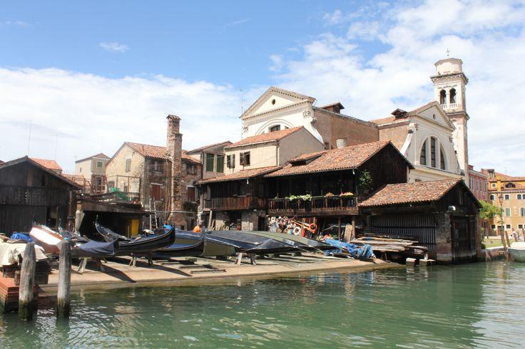 Gondolas, San Polo, Venice