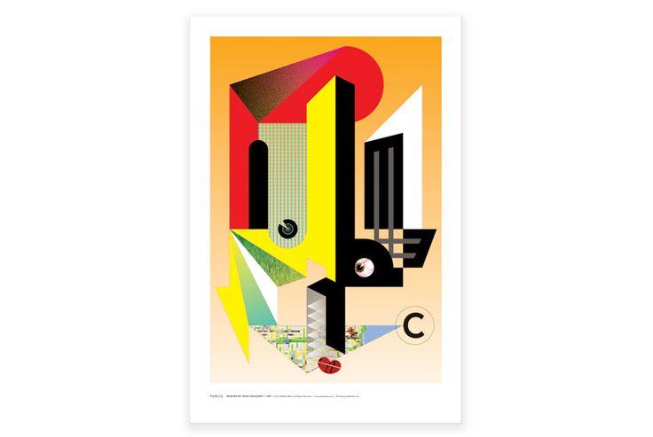 Rick Valicenti 20 X 30 Poster