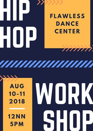 Arrows Hip Hop Dance Flyer