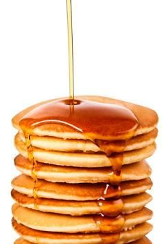 What do you do when you're out of milk or lactose intolerant and want pancakes? Use this recipe!