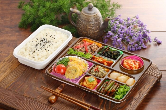 Korean lunch box 도시락
