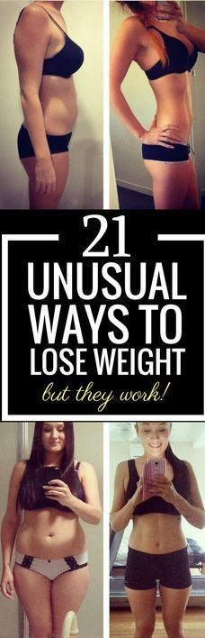 Unusual Ways To Lose Weight – But They Work