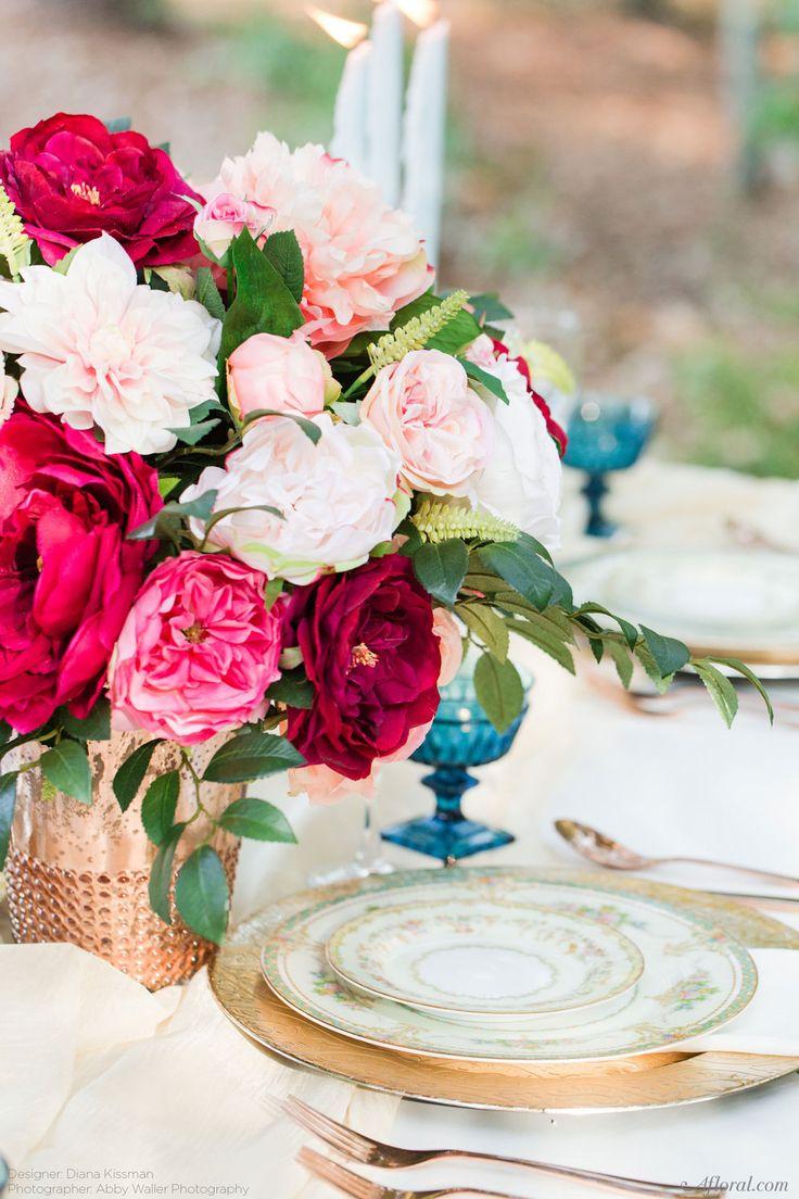 312 best Wedding Flowers images on Pinterest Silk flowers