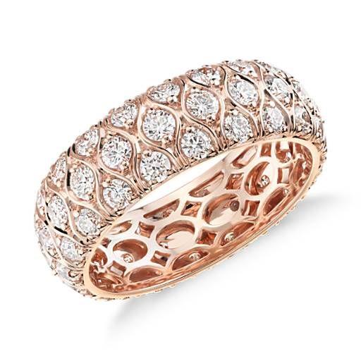 Radiance Diamond Eternity Ring in 18k Rose Gold (2.25 ct. tw.)