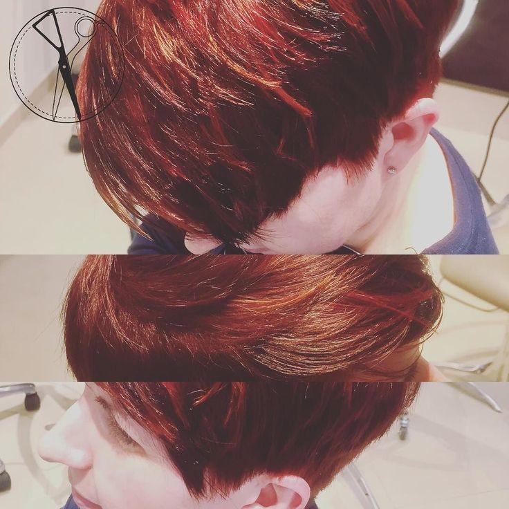 Ma ciao @MartaAngeleri ! Ma che cambiamento ! Da lunghi a corti da castana a rossa... ma soprattutto da comune a... Diversa ! - Garbo Parrucchieri  Il Primo Salone in Italia che fonde la Tecnica di Taglio Accademico Londinese all' Armonia e alla Raffinatezza che solo noi Italiani riusciamo a combinare  --- #tagliosartoriale #colore #3Dflamboyage #taglio #corto #capelli #tagliocorto #capellicorti #nuovotaglio #nuovo #moda #tendenza #forbici #instahair #gropellocairoli #garlasco #vigevano…