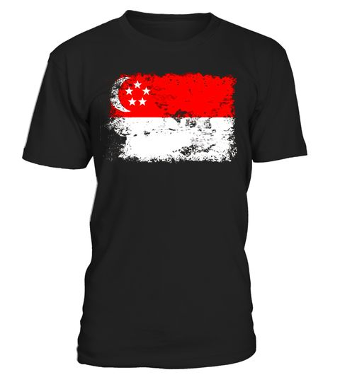 """# Singapore Flag T-Shirt 