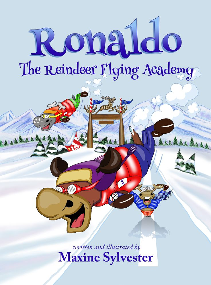 Bits about Books - Childrens Book Reviews/Ronaldo the Raindeer Flying Academy - Maxine Sylvester