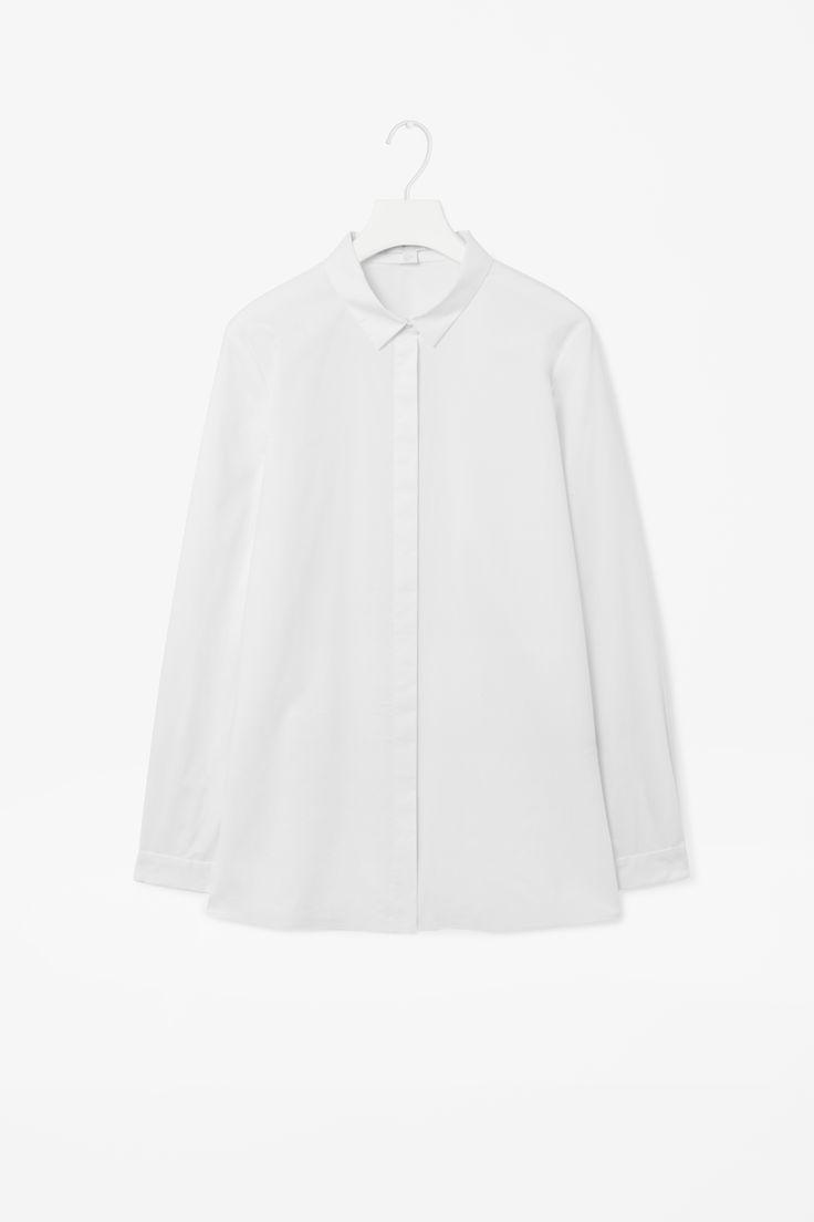 Shirt with bonded hem