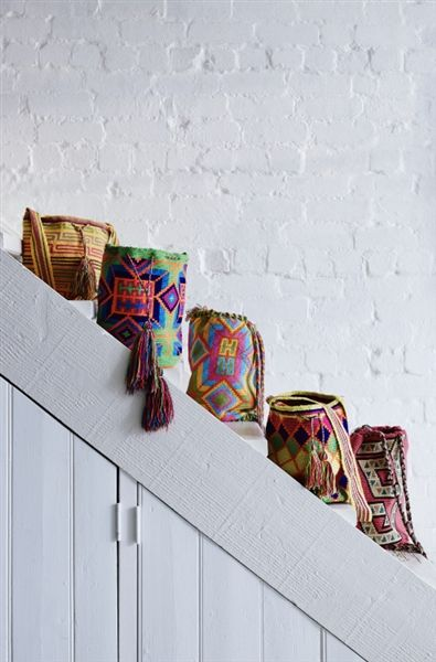 Wayuu Mochilla Bags - Barefoot Gypsy - Product Showroom 2014See Barefoot Gypsy at Reed Gift Fairs Melbourne August Stand: SG1745