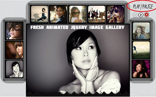 20 (More) Fresh jQuery Image Gallery/Slider Plugins and Tutorials Worth a Look