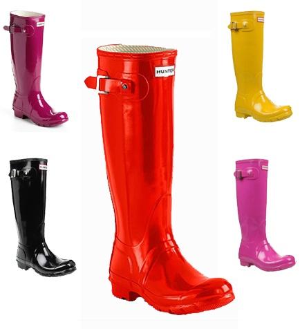 Simple High Heeled Rain Boots  Cr Boot