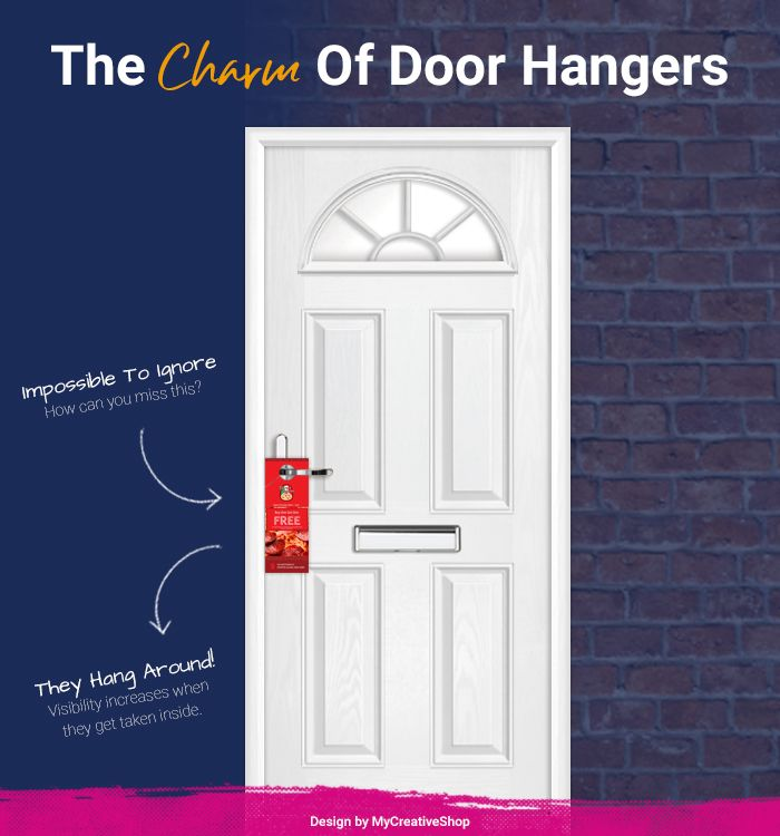 How To Make A Door Hanger Your Guide To Success Mycreativeshop Door Hanger Template Make A Door Door Hangers