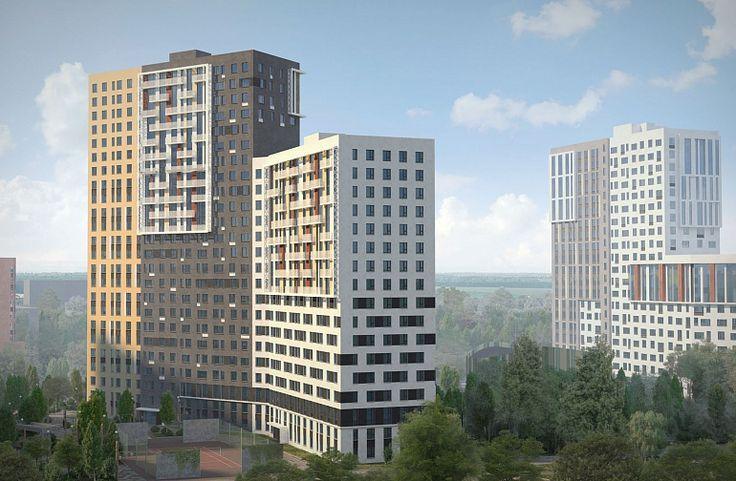 ЖК «Новая Звезда»: архитектурный облик - компания «КРОСТ»