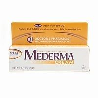 Mederma® Scar Cream with SPF 15 is the #1 doctor- and pharmacist-recommended brand for scars because it works. Mederma® is clinically proven to soften, smooth and ...