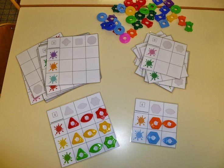 Tableaux double- entrée avec les perles d'abaques - La classe de WJL