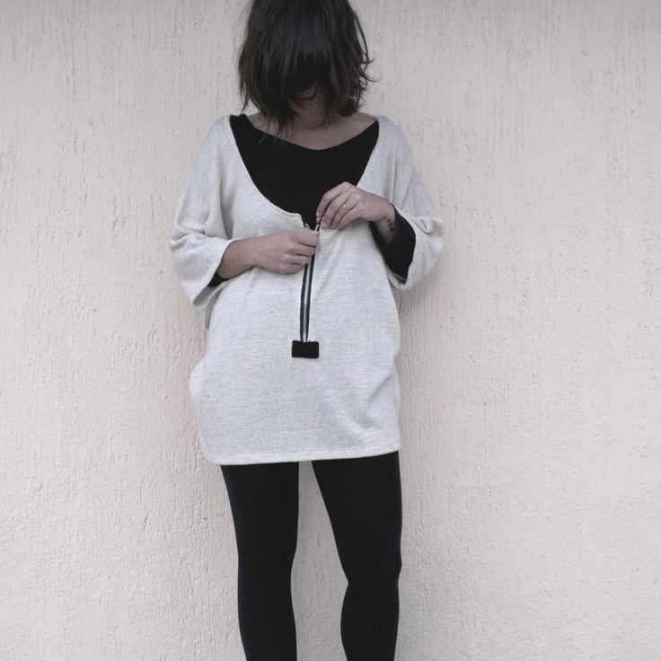 Mπλούζα με φερμουάρ
