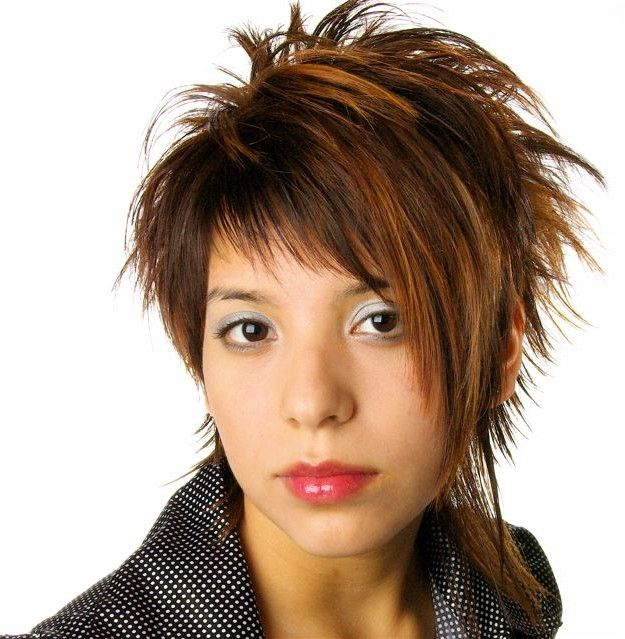 Pictures Of Spiked Haircuts For Women Women Spiky