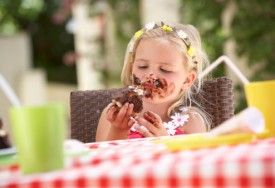 Don't worry about your little ones or even yourself getting messy when eating a chocolate treat - use these tips to find out how to remove chocolate stains!