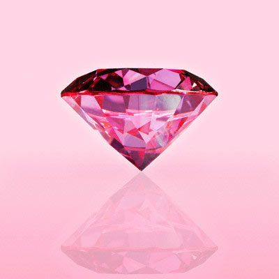 pink diamonds are a girls best friend!