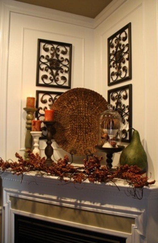 17 Best Ideas About Mantel Decor Everyday On Pinterest