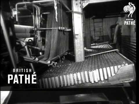 Lace Making (1940-1949) - YouTube