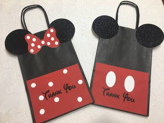 Mickey Mouse Paper Favor Bags Birthday Are Looking For A Special