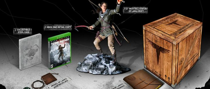 Conoce sobre ¡Qué chula se ve la edición de colección de Rise of the Tomb Raider!