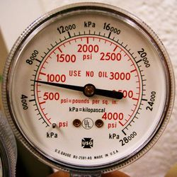 Pascal (Pa): SI unit for pressure; hectopascal (1hPa = 100Pa); standard atmospheric pressure is 101.325 kPa; 1 Pa = 1 N/m^2