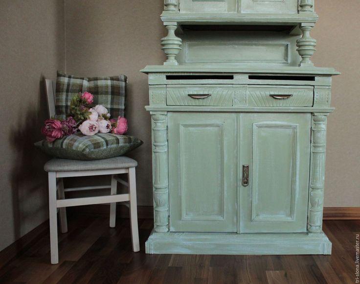 Купить Старинный буфет (восстановительные работы и декор) - восстановление мебели, буфет, старая мебель