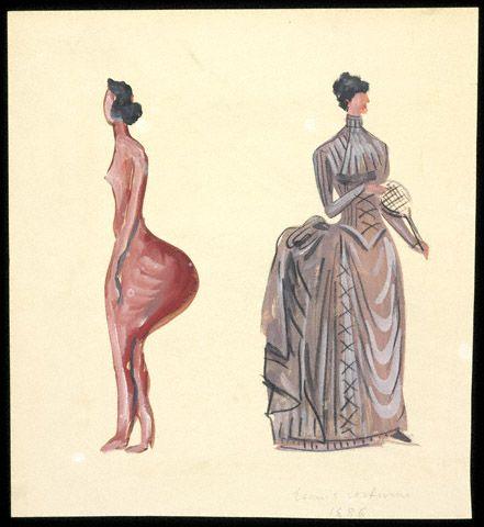 1886 Tennis Costume / Rudofsky