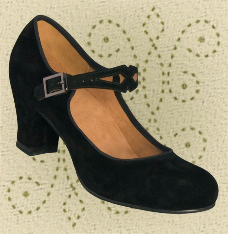 "Aris Allen Women (on sale $39.95 vs. $49.95) Flexible Suede-Leather Sole and Soft Foam Footbed. This Women's Black Character Dance Shoe is Perfect for Swing, Balboa, and Ballroom Dancing. A well-known tap performer and instructor has proclaimed these ""perfect for tap"" because the heel is lower than normal and because its placement is ""directly under the heel""."