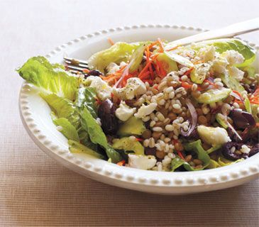 Barley and Lentil Salad With Goat Cheese | Recipe | Lentil Salad ...