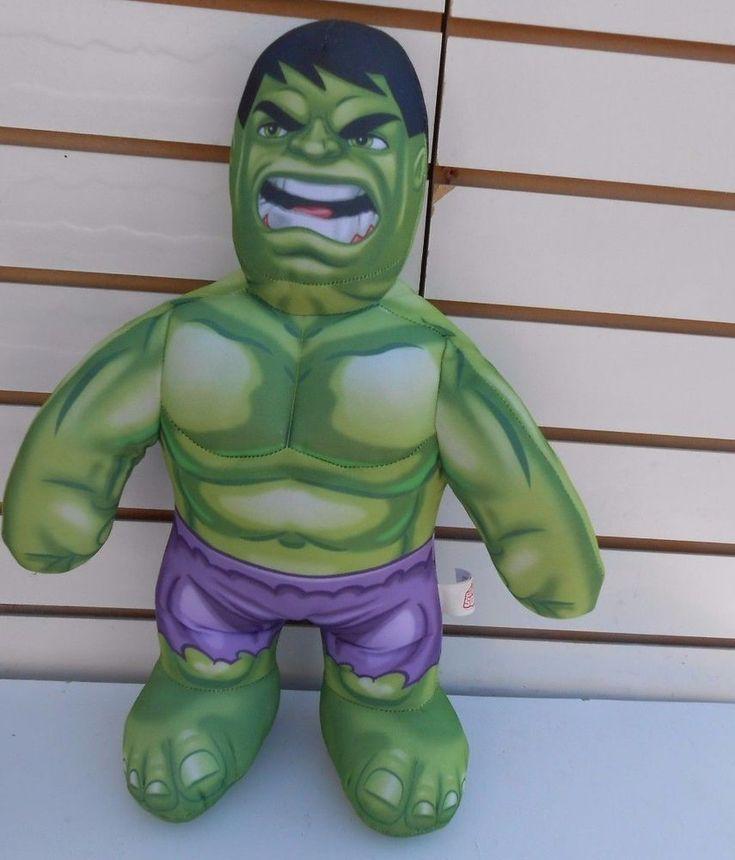 Incredible Hulk Talking Plush stuffed toy Action Figure Marvel #Marvel