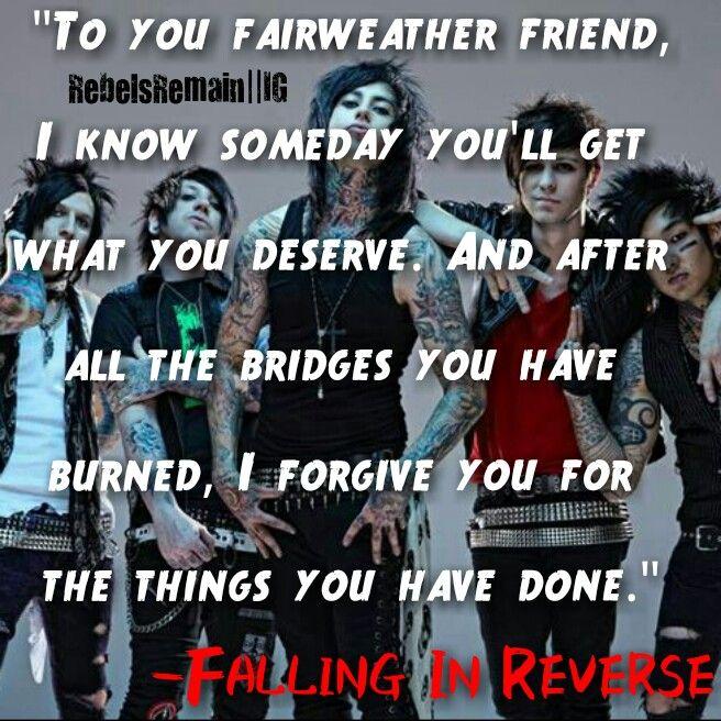 Falling In Reverse Sin...
