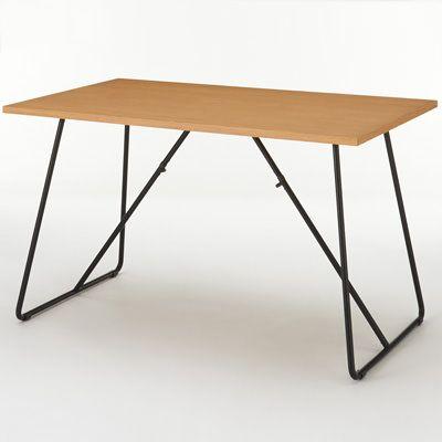 折りたたみテーブル・幅120cm・オーク材 幅120×奥行70×高さ72cm | 無印良品ネットストア
