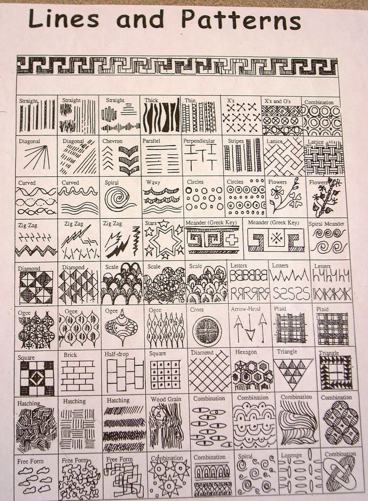 """Lines & Patterns"""