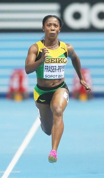 "Shelly-Ann Fraser-Pryce: The Fastest Women on Earth Reveals her Success Mantra ""Work Hard and Do Not Give Up"".   Shelly-Ann Fraser-Pryce, née Shelly-Ann Fraser was born at Kingston, Jamaica. She is a world-champion sprinter and Olympic gold medalist in the 100-meter. She won gold   medals in the 100-metre event at both the 2008 Beijing Olympic Games and the 2012 London Olympic Games.Check out at:http://www.womenfitness.net/shelly-ann_fraser-pryce.htm"