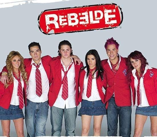 "So, this is Mexican pop sensation Rebelde (RBD for short). | Reminder: Hilary Duff's Cameo Appearance On ""Rebelde"" Is Still The Greatest Thing Ever"