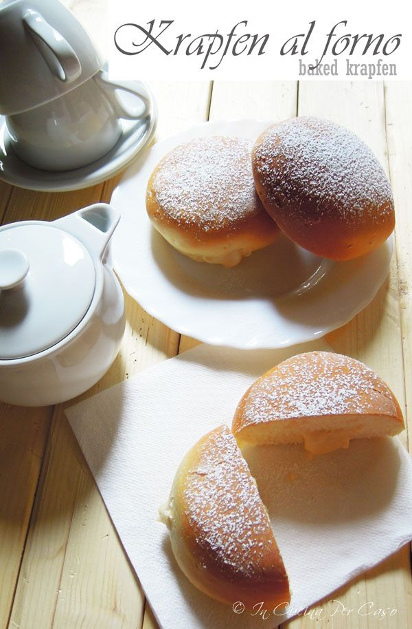 krapfen donuts (baked, not fried)