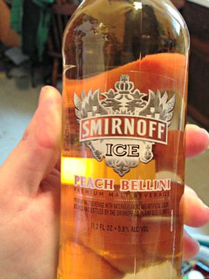 Smirnoff ice peach bellini blogging pinterest for Ice tropez alcohol percentage