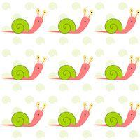kids snail pattern