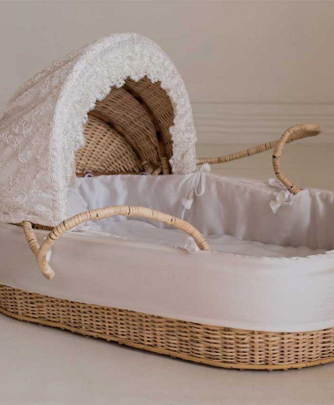 Crib Set Baby Basket Hand Made Baby Basket Moses Basket On