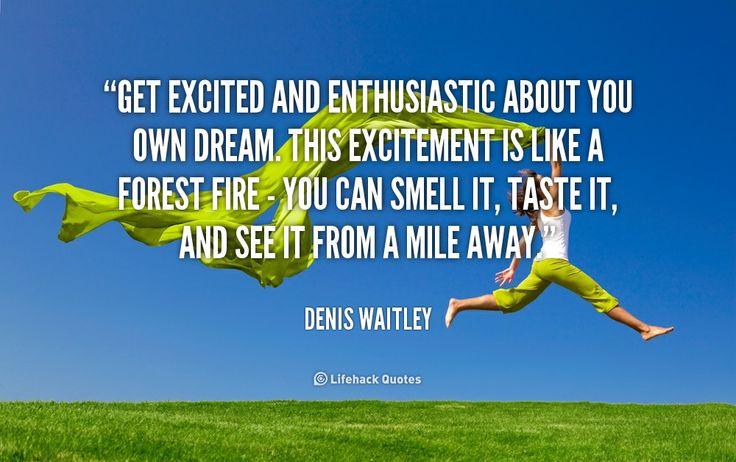 Excited Quotes Excitement. QuotesGram