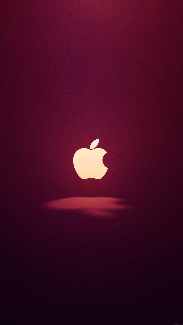 awesome apple-logo-love-mania-wine-red-iphone6-plus-wallpaper