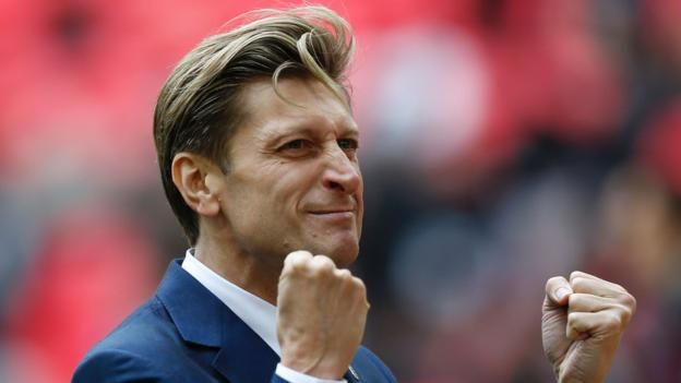 "Crystal Palace are looking for their eighth manager in seven years Crystal Palace are looking to appoint a long-term manager who will not treat the club as a ""stepping stone"", says chairman Steve Parish.  Sam Allardyce resigned as boss on 23 May after just five months in the..."