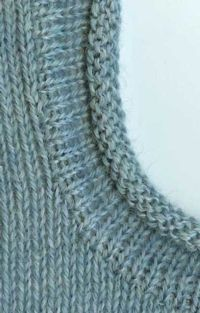 Cut N Sew - Rolled Edge Band Tutorial For Machine Knitting