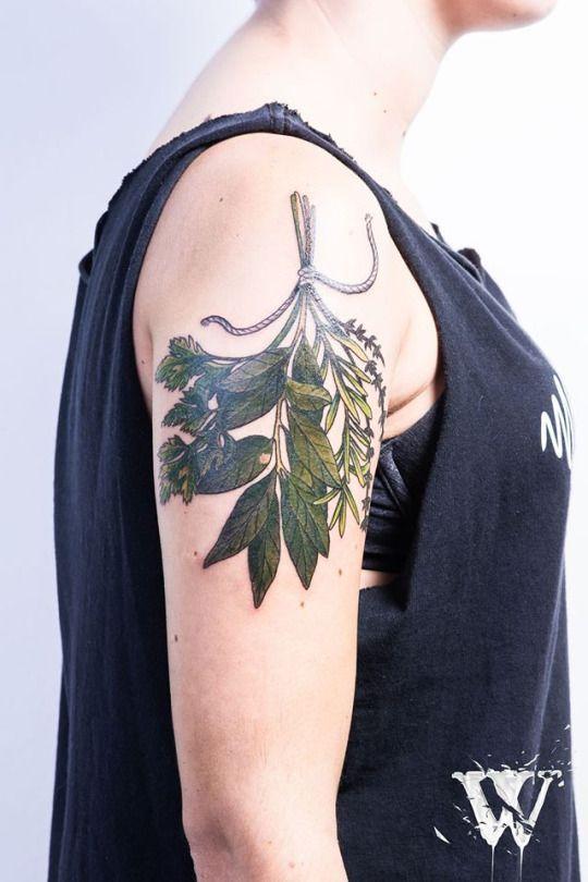 bouquet garni tattoo - Pesquisa Google                                                                                                                                                                                 More
