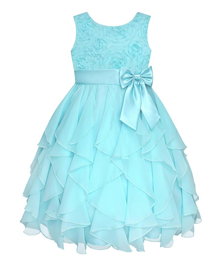 Flower girl dress. This dress is so cute for my Miss Reagan, but in a different color